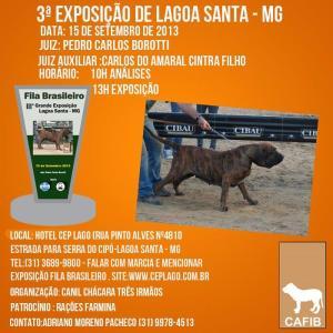 Foto Cartaz Expo Lagoa Santa - 2.013