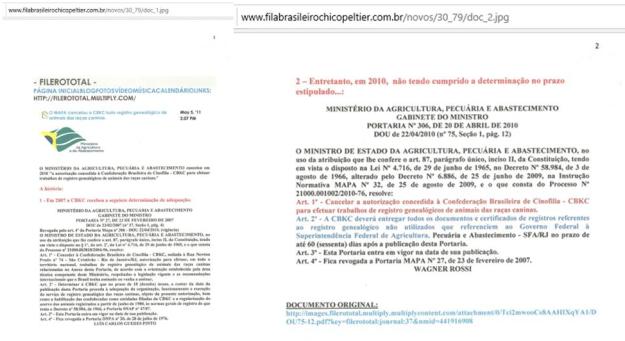 40 - CBKC perde exclusiidade - Filero total